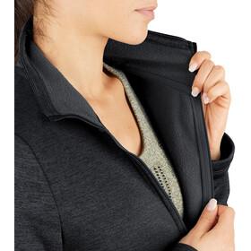 Salomon Transition Mid Shirt Halve Rits Dames, zwart